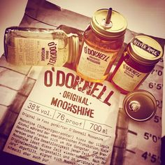 #ShareIG O'Donnell Moonshine - for all the Gangsters, Farmers and Sheriffs! #aboutdrinks #odonnellmoonshine #moonshine #korn #schnaps #spirit #spirits #gangster #farmer #sheriff #usa #drinks #cocktails #newin