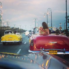 Havana Cuba, the capital for old cars. Ira Block, National Geographic