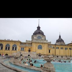 Mineral baths in Budapest