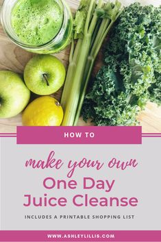 Make Your Own One Day Juice Cleanse — Ashley Lillis - Make you own juice cleanse at home and save money! This DIY juice cleanse will help you detox your - One Day Juice Cleanse, Detox Juice Cleanse, Green Detox Smoothie, Detox Juices, Smoothie Cleanse, Juice Cleanses, At Home Cleanse, Health Cleanse, Body Cleanse