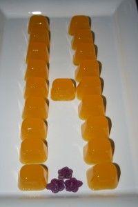 Gelatinas de naranja