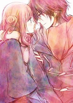 anime anime couple | Tumblr | We Heart It