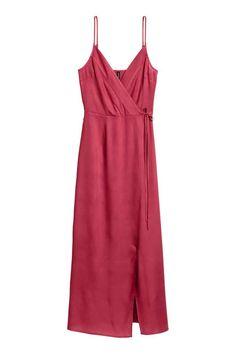Maxi dress - Raspberry red - Ladies | H&M CA