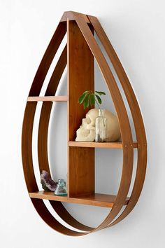 Bentwood Teardrop Shelf - Urban Outfitters