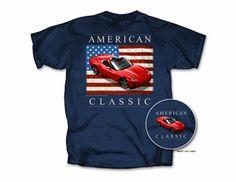 C6 Corvette T-shirt - American Classic - 3X - Item #329$10.00  C6 Corvette T-shirt - American Classic - 3X - Item #329 Click to enlarge 100% pre-shrunk cotton - image on back - corresponding emblem on left front chest.