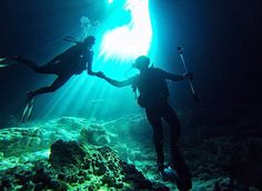 ♥♥50+ ROMANTIC ADVENTURES FOR COUPLES♥♥  Go Cave Diving in Mexico