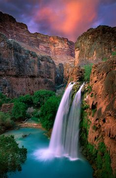 ✮ Best Pic of Havasu Falls! best place to go camping!
