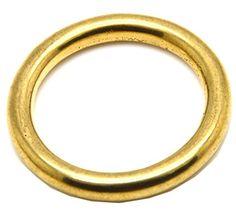 Okones 4 Sizes Solid Brass o Ring for Webbing Strapping Flat Cords Belting Leathercraft Pack of 10pcs BRA0022 (INSIDES 1-5/9'') Okones Art http://www.amazon.com/dp/B016932CO8/ref=cm_sw_r_pi_dp_WTaowb0JRKFQK