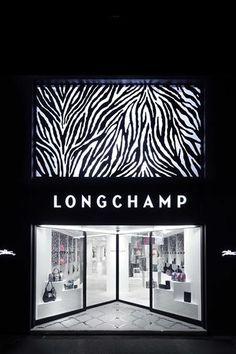 "Longchamp ""Flash"" shop | WORKS - CURIOSITY - キュリオシティ -"