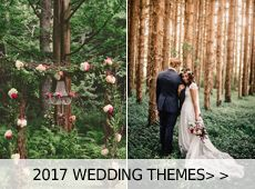 Burgundy/marsala is without doubt the most popular wedding color for the coming autumn and winter. Being contrasting, bold and outstanding, burgundy can pop with a number of colours, whatever you choose to match it wi...