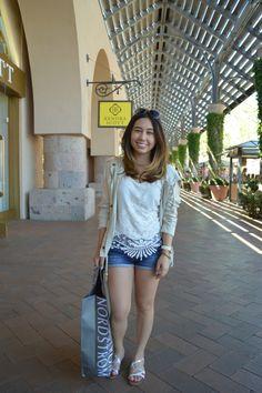 Summer Lob - Shopping at Fashion Island