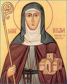 St Hilda (614-680) Abbess of Whitby
