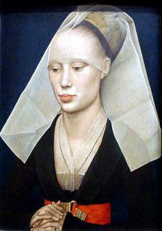WEYDEN Rogier van der | Portrait of a Lady. | c. 1460 | Netherlandish | Renaissance (Northern)