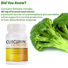 Taking Curcumin Extreme every day can help detoxify impurities in the body that build up over time.