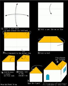 Easy Origami For Kids House Of Conner