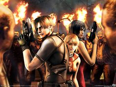 Resident Evil 4 - best one in the series.  Do I get to play as the vaguely Asian chick though?  No, mostly as the floppy-haired guy.