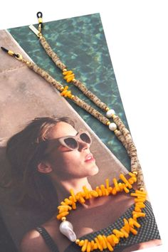 Time to improve your Bohemian Look! Stylish Sunglasses Holder featuring Gemstones & Pearls   This is your go-to Summer Accessory! Wear it also as an AirPods, or Face Mask Chain. Yeah! SPECSET #boho #bohochic #eyewear #accessories #beach #beachstyle #summerstyle #pearls #necklace #womenfashion #sunglasses #sunglassesfashion #eyeglassholder #facemasks #womenjewelry #specset #bohemian #style #giftforher #trending Trending Sunglasses, Stylish Sunglasses, Sunglasses Women, Bohemian Look, Boho Chic, Eyeglass Holder, Pearl Gemstone, Summer Accessories, Eyewear
