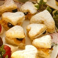 Fruit-Filled Pastry Hearts Recipe