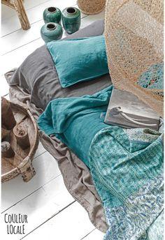 vintage sari bedcover