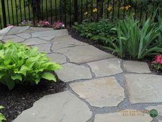 Driveways, Walkways, Long Island Ny, Garden Landscaping, Sidewalk, Deck, Backyard, Landscape, Sidewalks