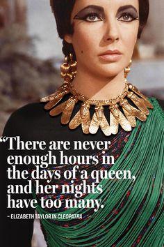 Elizabeth Taylor in Cleopatra, 1963, wearing a top by Stella McCartney, 2014.  Photo: Bobby Doherty/New York Magazine/Twentieth Century-Fox