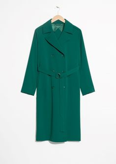 & Other Stories | Double Breasted Trench Coat