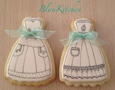 Dress cookies~                           By Blaukitchen, white