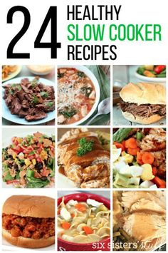 24 Healthy Slow Cook
