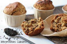 Sesame & Kinako Muffins. #vegan