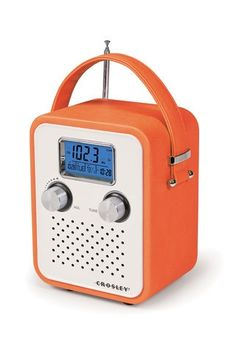Portable orange radio