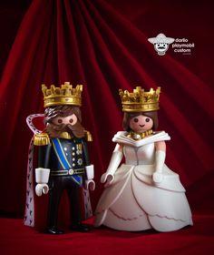 Maximiliano y Carlota de Hasburgo Emperadores de México Mexican Emperors Playmobil Custom