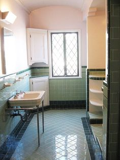 Window Idea for main bath Vintage and Classic Bathroom Tile Design 62