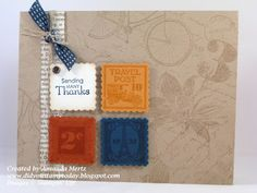 by Amanda Mertz, Did You Stamp Today?: Postage Thanks Fab Friday 06