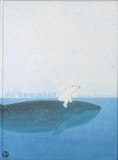 Er komt een ijsbeer aan op de rug van een walvis. Daarna een bruine beer in een bijzondere boot. De ijsbeer is in de boomhut geklommen; de bruine beer volgt. Ze hebben genoeg aan elkaar. Maar het water is inmiddels gezakt en er komen steeds meer dieren aan: over land, door de lucht... Ze willen allemaal de boomhut in. Die raakt ten slotte overvol. Gelukkig gaan ze ook allemaal weer weg. En als de avond is gevallen zijn de twee vrienden weer samen.