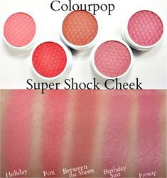 Top Blushes for Spring 2015 // Colourpop Super Shock Cheek