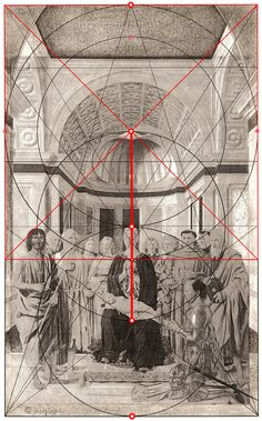 Piero della Francesca (Giorgioppi 2008) Composition Painting, Composition Design, Banana Art, Geometric Symbols, Esoteric Art, Cinematic Photography, Occult Art, Golden Ratio, Generative Art
