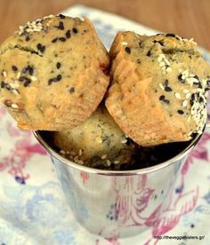 πανάλαφρα νηστίσιμα μάφιν με ελιές