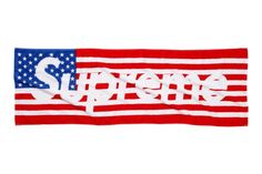 Supreme 2012 Spring/Summer Flag Towel: With Fourth of July just around the corner, Supreme takes the initiative today unveiling a special Us Flags, City Maps, Fashion Gallery, Beach Bum, Red White Blue, Hypebeast, Supreme, Towel, Spring Summer