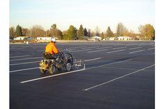 how Road Striping Works Fern Park, Altamonte Springs, Bay Lake, Lake Buena Vista, Forest City, Windermere, Winter Park, Parking Lot, Winter Garden
