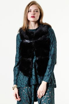 Not A Real Faux Fur Vest - Jackets/Coats - Clothing Discover the latest fashion trends online at storets.com