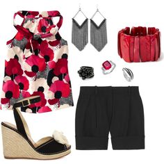 """""""Poppies"""" by bethherrmann on Polyvore"""