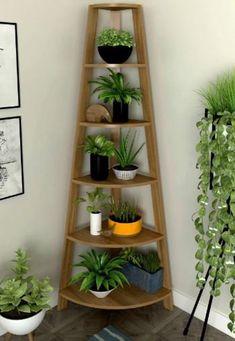 House Plants Decor, Plant Decor, Diy Bedroom Decor, Diy Home Decor, Wall Decor, Small Balcony Decor, Plant Shelves, Wall Mounted Storage Shelves, Book Shelves