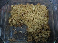 SCD Apple Crumble - honey as sweetener, spice, 1 cup almond flour and cup coconut oil. Bake 350 for 35 minutes Scd Recipes, Sugar Free Recipes, Healthy Recipes, Healthy Food, Gluten Free Sweets, Gluten Free Cakes, Grain Free, Dairy Free, Coconut Tea