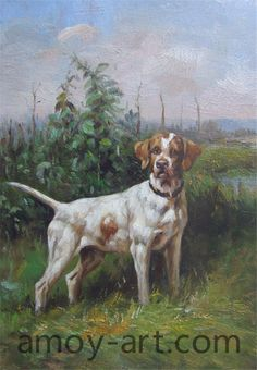 AA04DG001 (1)-Dog-China Oil Painting Wholesale | Portrait Oil Painting| Museum Quality Oil Painting Reproductions