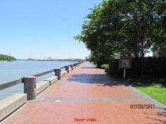 River Walk, Savannah, GA
