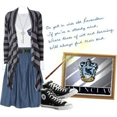 Images For > Ravenclaw Outfit Polyvore