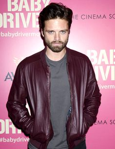 Sebastian Stan attends a special screening of 'Baby Diver' in New York City on Jun 26th 2017
