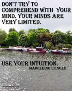 Use your #intuition