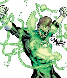 Green Lantern Hal Jordan by Carlos Pacheco