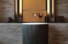 The Puli Hotel and Spa Shanghai features Gessi Rettangolo XL